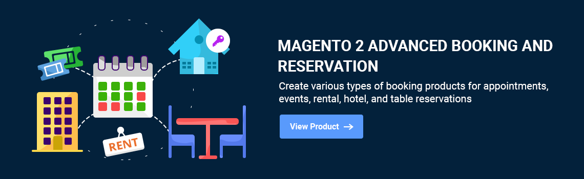 Magento2 Advanced Booking & Reservation