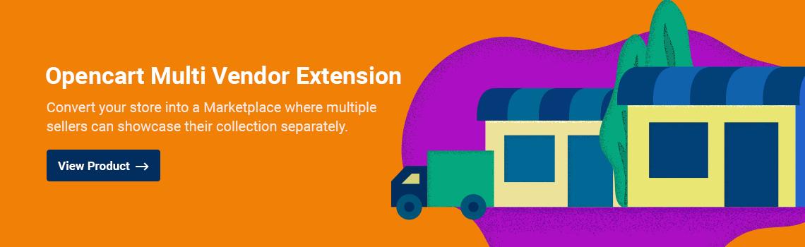 Opencart Multi Vendor Extension