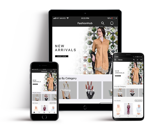 FashionHub Mobile Apps