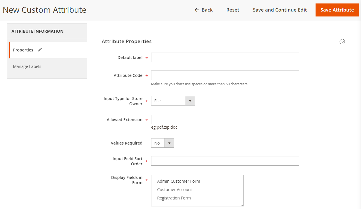 Magento 2 Custom Registration Fields