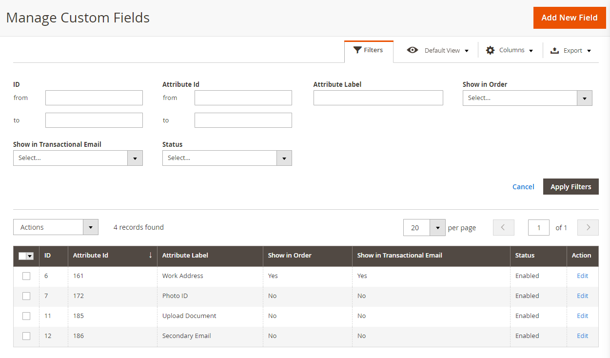 Magento 2 Custom Sign Up Fields