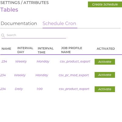 Akeneo Cron Scheduler