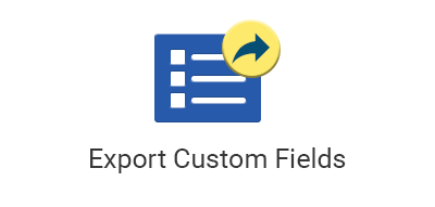Export Custom Fields