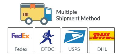 Multiple Shipment methods-