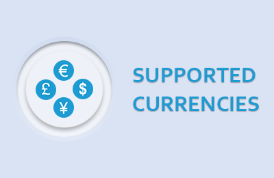 Supported Currencies