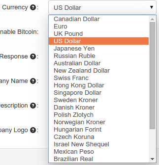 support currency