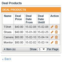 deal list