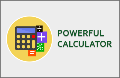 Powerful calculator