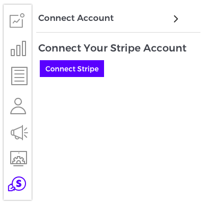 Connect to Stripe account