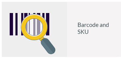 Barcode and SKU-Product addition