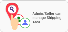 Admin / Seller Shipping Area Management