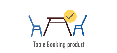 Table Booking product: