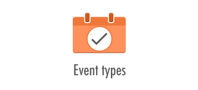 Event types: