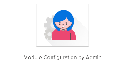 Module Configuration by Admin