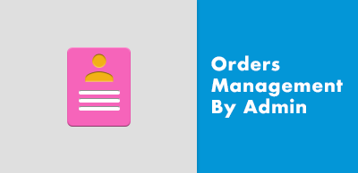 Orders Management By Admin