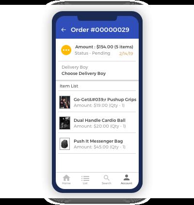 Easy Order Management- Admin End