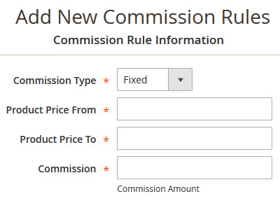 Commission Rules