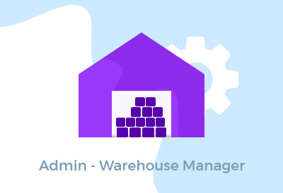 Admin - Warehouse Manager