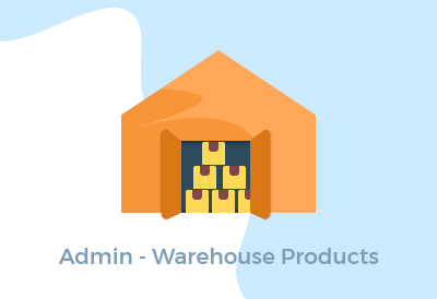 Admin - Warehouse Products