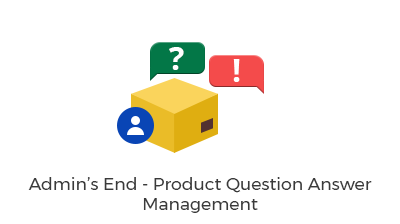 Admin's End - Product Question Answer Management