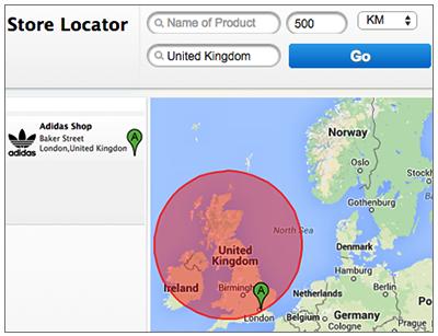 Vendor Location On Google Map