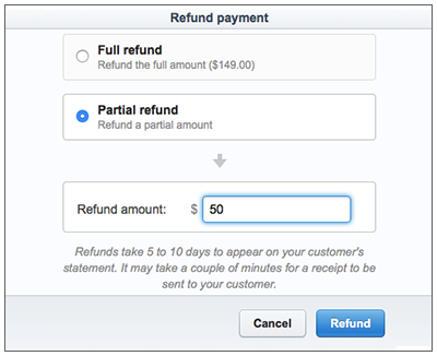 Stripe Refund Management