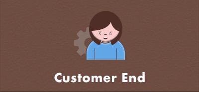 Customer end