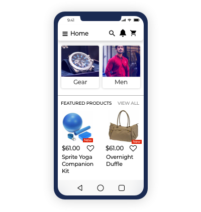 Interactive Homepage