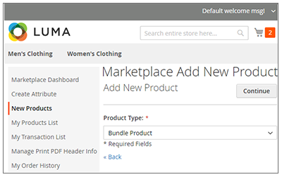 Marketplace Bundle Product Module for Magento2