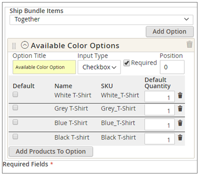 Marketplace Bundle Product Module for Magento2