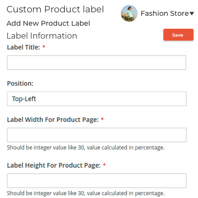 Seller Management of Product Labels