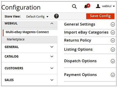 Admin Configurations