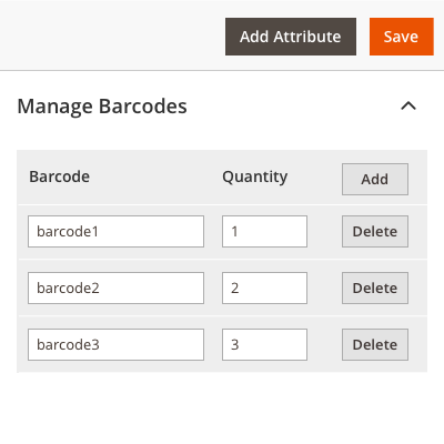Choosing Products to Add Barcodes