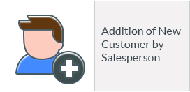 Addition of New Customer by Salesperson