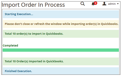 How to Synchronize the Orders Manually