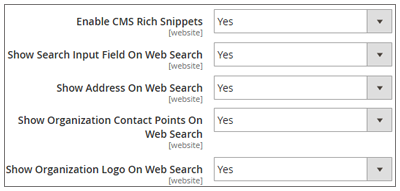 CMS Rich Snippets