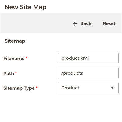 Sitemap for Magento 2