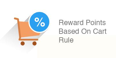 Reward points based on cart rule