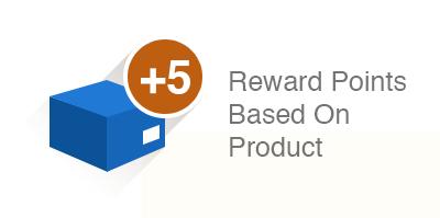 Reward points based on Product