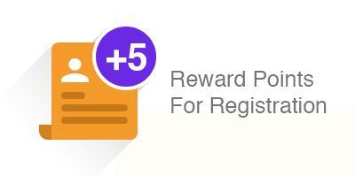 Reward Points for Registration