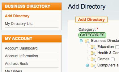 Magento-Directory-Listing