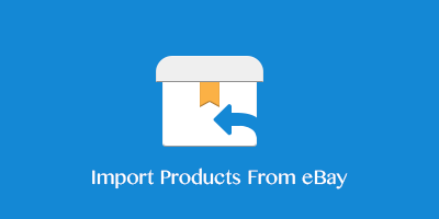 Import products to eBay