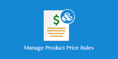 Manage Product Price Rules