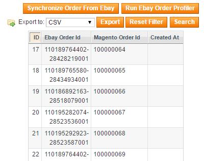 Map Orders