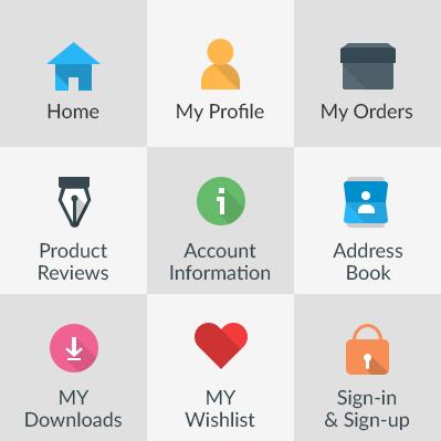All in One - Customer Account Menu