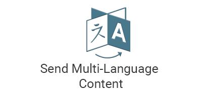 Send Multi-Language Content