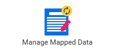 Manage Mapped Data