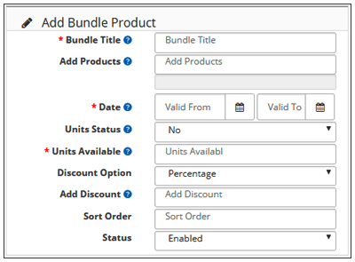 Add Bundle Product