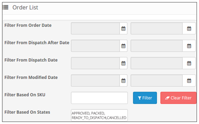 Manage Flipkart Orders-Advance Filter Search for Flipkart Orders