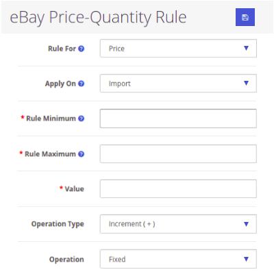 Price-Quantity Rule